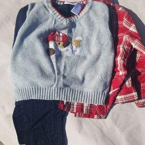 Boys dog outfit